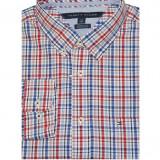 Camasa Tommy Hilfiger Men's Classic Fit Plaid Shirt rosie masura M si L