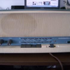RADIO RADIOMARELLI RD230 CU TUBURI, FOARTE VECHI .ANII 62-69 - Aparat radio