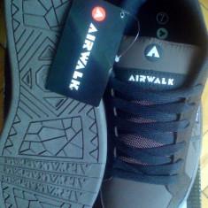 Adidasi barbati - Adidasi Airwalk Neptune skate 41EU piele naturala-produs original-IN STOC