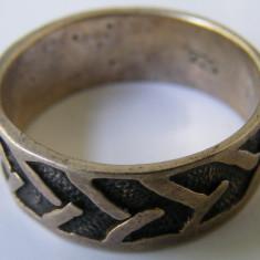 Inel argint - Inel vechi din argint (135) - de colectie