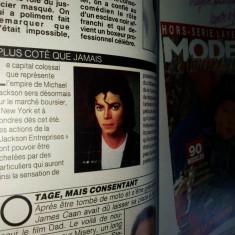 Revista franceza Nous deux - aprilie 1990 - Articol Michael Jackson - Revista moda
