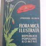 Flora mica ilustrata a Republicii Populare Romane / I.Prodan si Al.Buia / C61P - Carte Biologie
