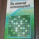 Carte Psihologie - SEPTIMIU CHELCEA, ADINA CHELCEA -DIN UNIVERSUL AUTOCUNOASTERII (3233