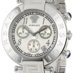 Versace Women's Q5C99D498 S099 Reve Stainless | 100% original, import SUA, 10 zile lucratoare af12408 - Ceas barbatesc Versace, Quartz