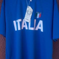 Tricou Italia - NOU - marimea: L, XXL - Tricou echipa fotbal, Marime: L, Culoare: Albastru, Maneca scurta