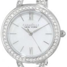 Caravelle New York Women's 43L166 Stainless   100% original, import SUA, 10 zile lucratoare af22508 - Ceas dama Bulova