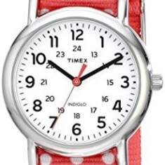 Timex Women's TW2P656009J Weekender Silver-Tone Watch | 100% original, import SUA, 10 zile lucratoare af22508 - Ceas dama