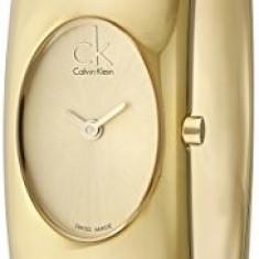 Calvin Klein Women's K1Y23209 Exquisite Gold-Tone | 100% original, import SUA, 10 zile lucratoare af22508 - Ceas dama