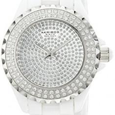 Akribos XXIV Women's AKR457WT Lady Diamond | 100% original, import SUA, 10 zile lucratoare af22508 - Ceas dama