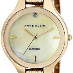 Anne Klein Women's AK 1488CMGB Diamond | 100% original, import SUA, 10 zile lucratoare af22508 - Ceas dama