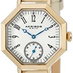 Akribos XXIV Women's AK771TN Gold-Tone Watch | 100% original, import SUA, 10 zile lucratoare af22508 - Ceas dama