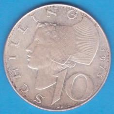(5) MONEDA DIN ARGINT AUSTRIA - 10 SCHILLING 1973, 7, 5 GRAME, Europa