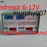Mini Redresor auto de 6 si 12V.Redresoare baterii moto/atv 6-12 volti