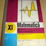 MATEMATICA - Elemente de analiza matematica - Gussi / Stanasila / Stoica clasa a - Manual Clasa a XI-a, Clasa 11