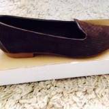 Pantofi damă Thurley, Piele naturala