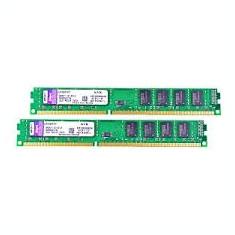 KIT Memorie RAM Kingston ValueRAM 16GB DDR3 1333MHz CL9 2x KVR1333D3N9/8G, Dual channel