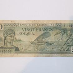 Noua Caledonie 20 Francs 1944 F+++/VF