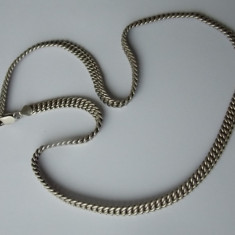 Lantisor argint - Lant argint model masiv