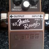 Vand pedala chitara electrica Boss FRV-1 (Fender '65 Reverb)
