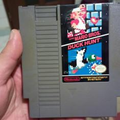 Caseta NES NINTENDO ENTERTAINMENT SYSTEM Super Mario Bros and Duck Hunt Colectie Altele, Arcade, Toate varstele
