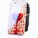 Husa silicon TPU Apple iPhone 6 Wine Glass rosie