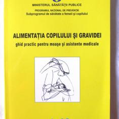 ALIMENTATIA COPILULUI SI GRAVIDEI, Min. Sanatatii Publice, 2007. Absolut noua - Carte Alimentatie
