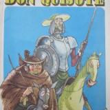 Carte de povesti - Don Quijote - repovestita copiilor (ilustr. E. Taru) - format f. mare- Cervantes