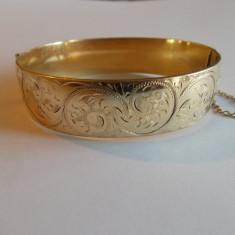 Bratara din aur - Bratara aur 9k exterior, interior metal