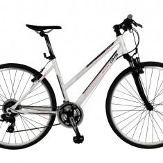 Bicicleta BMX - Bicicleta CROSS CONTURA 2866 - model 2015-Alb-Cadru 440 mm