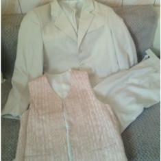 Costum barbati - Costum barbatesc!cadou vesta si camasa asortate!super pret!
