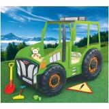 Patut In Forma De Tractor - Plastiko - Verde