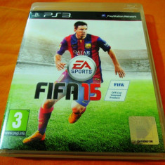 Joc Fifa 15, PS3, original, alte sute de jocuri! - Jocuri PS3 Ea Sports, Sporturi, 3+, Multiplayer