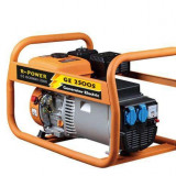 Generator de curent R-Power GE 2500S, 2800 W, manuala