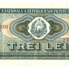 Bancnote Romanesti, An: 1966 - BANCNOTA DE 3 LEI 1966, PRET FOARTE CONVENABIL.