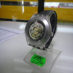 Ceas Swatch ag2001 Diaphane Automatic (lef) - Ceas barbatesc Swatch, Casual, Mecanic-Automatic, Inox