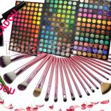 Trusa farduri 252 culori Fraulein38 Germania + 20 pensule machiaj + CADOU - Trusa make up