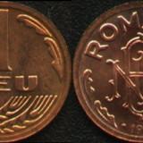Monede Romania - Monedă 1 leu 1993