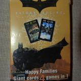 Colectii - Joc de carti Happy Families, Batman Begins, 4 in 1, complet, cu instructiuni
