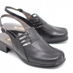 Sandale dama din piele naturala - elegante -casual - Made in Romania