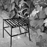 Scaun gradina - Scaun ornamental forjat sudat