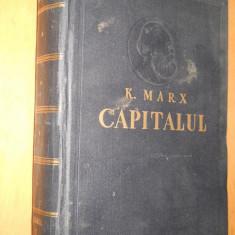 Carte Politica - KARL MARX - CAPITALUL - VOLUMUL 1 - 1957