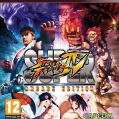 Super Street Fighter Iv Arcade Edition Ps3 - Jocuri PS3 Capcom