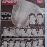 Revista barbati - Revista vintage Sport nr. 6 / 1961