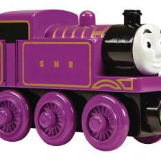 Locomotiva Ryan, colectia Thomas si prietenii sai, Fisher Price - Trenulet de jucarie Fisher Price, 4-6 ani, Lemn, Baiat