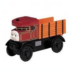 Camionul Elizabeth, colectia Thomas si prietenii sai, Fisher Price - Trenulet de jucarie Fisher Price, 4-6 ani, Lemn, Baiat