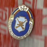 RARA-INSIGNA-PRIETEN AL TRUPELOR DE SECURITATE-cu ac - Medalii Romania, An: 1980