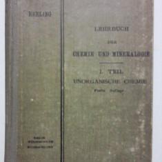 Carte veche - Carte de chimie si mineralogie 1920 / R5P4S