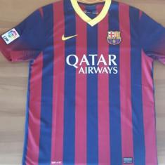 Tricou Fc Barcelona model 2014 Original - Tricou barbati Nike, Maneca scurta, Poliester