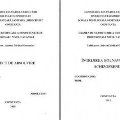LUCRARE DE LICENTA A.M.G. - INGRIJIREA BOLNAVULUI CU SCHIZOFRENIE (+ prezentare Power Point)