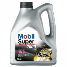 Ulei Mobil Super 2000 X1 Diesel 10W40 4L - Ulei motor Mobil 1